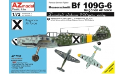 Bf 109G-6 Messerschmitt - AZ MODEL AZ7632 1/72