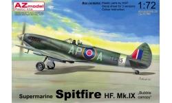 Spitfire HF Mk IX Supermarine - AZ MODEL AZ7633 1/72