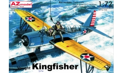 OS2U-1 Vought-Sikorsky, Kingfisher - AZ MODEL AZ7636 1/72