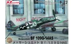 Bf 109G-14/AS Messerschmitt - AZ MODEL AZ7642 1/72