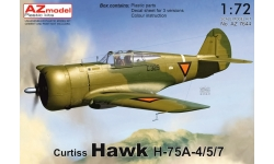 Hawk H75A-4/5/7 Curtiss - AZ MODEL AZ7644 1/72