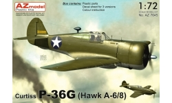 Hawk H75A-6/8/P-36G Curtiss - AZ MODEL AZ7645 1/72