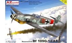 Bf 109G-14/AS Messerschmitt - AZ MODEL AZ7656 1/72