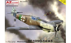Bf 109G-14/AS Messerschmitt - AZ MODEL AZ7657 1/72