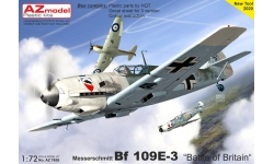 Bf 109E-3 Messerschmitt - AZ MODEL AZ7658 1/72