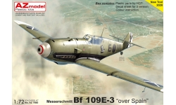 Bf 109E-3 Messerschmitt - AZ MODEL AZ7660 1/72
