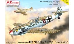 Bf 109E-7 Messerschmitt - AZ MODEL AZ7663 1/72