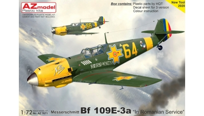 Bf 109E-3a Messerschmitt - AZ MODEL AZ7671 1/72