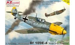 Bf 109E-4 Messerschmitt - AZ MODEL AZ7682 1/72