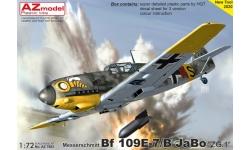 Bf 109E-7 Messerschmitt - AZ MODEL AZ7683 1/72