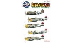 P-47D Republic, Thunderbolt - BARRACUDACALS BC72038 1/72