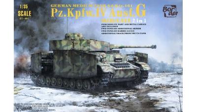 Panzerkampfwagen IV, Sd.Kfz.161/1, Ausf. G, Krupp - BORDER MODEL BT-001 1/35