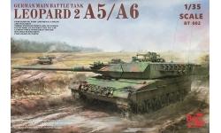 Leopard 2A5/A6, Krauss-Maffei Wegmann - BORDER MODEL BT-002 1/35