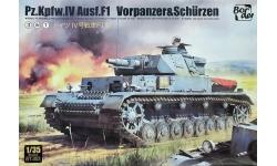 Panzerkampfwagen IV, Sd.Kfz.161, Ausf. F (F1), Krupp - BORDER MODEL BT-003 1/35
