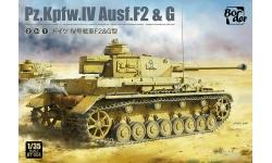 Panzerkampfwagen IV, Sd.Kfz.161/1, Ausf. F2/G, Krupp - BORDER MODEL BT-004 1/35