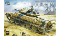 Cruiser Mk VI (A15) Nuffield Mechanizations Ltd., Crusader Mk. III - BORDER MODEL BT-012 1/35