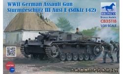 Sturmgeschütz III, Sd.Kfz. 142 Ausf. E, StuG III - BRONCO CB35118 1/35