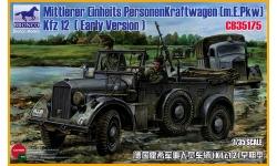 Mittlerer Geländegängiger PKW, Kfz. 12, Horch - BRONCO CB35175 v1/35