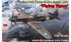 P-40C Curtiss, Warhawk - BRONCO FB4006 1/48