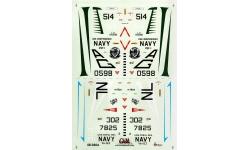 A-4C Douglas, Skyhawk - CAM DECALS 48-040 1/48