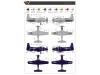 XA2D-1 Douglas, Skyshark - CLEAR PROP CP72005 1/72