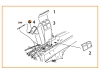 A5M2b Type 22 Mitsubishi. Фонарь вакуумный (CLEAR PROP) - CLEAR PROP CPA72022 1/72