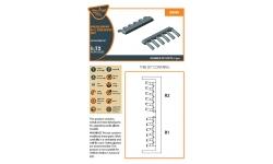 Р-5 Поликарпов. Выхлопные патрубки - CLEAR PROP CPA72035 1/72