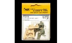 Фигурки подводников Кригсмарине (для U-Boot Typ VII) - CMK F72118 1/72