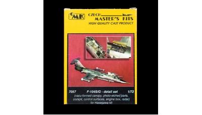 F-104G/S Lockheed, Starfighter. Конверсионный набор (HASEGAWA) - CMK 7057 1/72