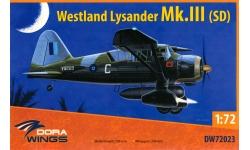 Lysander Mk. III SCW (SD) Westland - DORA WINGS DW72023 1/72