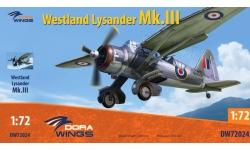 Lysander Mk. III Westland - DORA WINGS DW72024 1/72