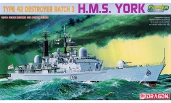 HMS York (D98), Type 42 / Sheffield class, Batch 3 - DRAGON 7055 1/700