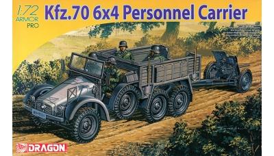 Mannsch.Kw. Kfz.70, L 2 H 143, Krupp & 3,7 cm PaK 36 - DRAGON 7377 1/72