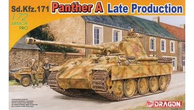 Panther, Panzerkampfwagen V, Sd.Kfz. 171, Ausf. A, MAN - DRAGON 7505 1/72