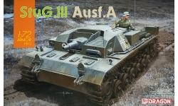 Sturmgeschütz III, Sd.Kfz. 142 Ausf. A, StuG III - DRAGON 7557 1/72