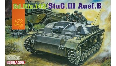 Sturmgeschütz III, Sd.Kfz. 142 Ausf. B, StuG III - DRAGON 7559 1/72