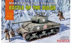 M4A3(76)W, Sherman - DRAGON 7567 1/72