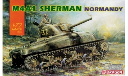 M4A1, Sherman - DRAGON 7568 1/72