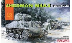 M4A3(105), Sherman - DRAGON 7569 1/72