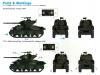 M4A1(76)W, Sherman - DRAGON 7571 1/72