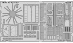 Фототравление для Су-2 Сухой (ЗВЕЗДА) - EDUARD 48805 1/48