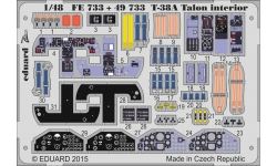 Фототравление для T-38A Northrop, Talon (WOLFPACK DESIGN) - EDUARD 49733 1/48