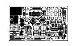 Фототравление для G3M2/G3M3 Model 22/23 Mitsubishi (HASEGAWA) - EDUARD 72260 1/72
