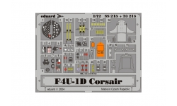 Фототравление для F4U-1D Chance Vought, Corsair (TAMIYA) - EDUARD 73215 1/72