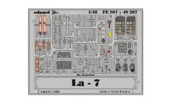 Фототравление для Ла-7 Лавочкин (HASEGAWA/EDUARD) - EDUARD FE207 1/48