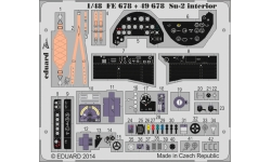 Фототравление для Су-2 Сухой (ЗВЕЗДА) - EDUARD FE678 1/48
