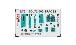 МиГ-21МФ. 3D декали (EDUARD) - EDUARD 3DL72002 1/72