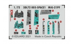 МиГ-21ПФ. 3D декали (EDUARD) - EDUARD 3DL72003 1/72