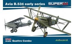 B-534 I./II./III. verze Avia - EDUARD 4451 1/144