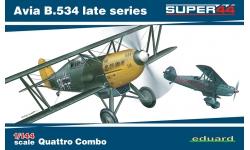B-534 IV. verze/Bk-534 Avia - EDUARD 4452 1/144